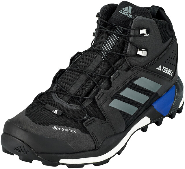 adidas TERREX Skychaser XT Mid Gore Tex Hiking Shoes Men, core blackgrey fivecollegiate royal